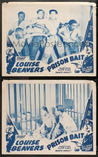 3g0752 REFORM SCHOOL 2 LCs R1940s Toddy Pictures, Harlem's Tuff Kids in Prison Bait!