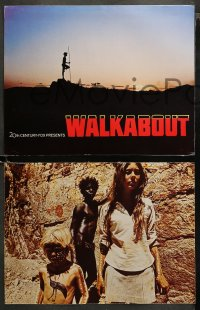 3g0039 WALKABOUT 9 color from 10.5x14 to 11x14 stills 1971 Jenny Agutter & Luc Roeg in the Outback!