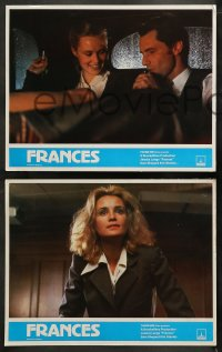 3g0001 FRANCES 16 English LCs 1982 Jessica Lange as cult actress Frances Farmer, Sam Shepard, Huston!