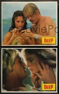 3g0012 DEEP 11 LCs 1977 Peter Yates, Benchley, Robert Shaw, Nick Nolte & sexy Jacqueline Bisset!