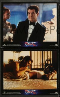 3g0020 DIE ANOTHER DAY 10 LCs 2002 Pierce Brosnan as Bond, Halle Berry & sexy Rosamund Pike!