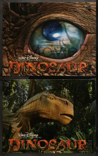 3g0028 DINOSAUR 9 LCs 2000 Disney, great CGI animated images of prehistoric creatures!