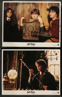 3g0013 HARRY POTTER & THE CHAMBER OF SECRETS 11 LCs 2002 Daniel Radcliffe, Emma Watson, Grint