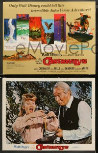 3g0034 IN SEARCH OF THE CASTAWAYS 9 LCs R1978 Jules Verne, Hayley Mills in an avalanche of adventure!