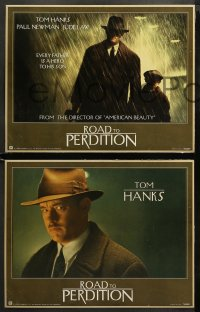 3g0016 ROAD TO PERDITION 11 LCs 2002 directed by Sam Mendes, Tom Hanks, Paul Newman, Jude Law!