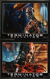 3g0010 TERMINATOR SALVATION 12 LCs 2009 Christian Bale, Sam Worthington, cool sci-fi images!