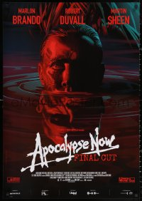 3h0717 APOCALYPSE NOW Italian 1sh R2019 Francis Ford Coppola, Laurent Durieux art of Sheen/Brando!
