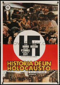3h0981 HIDING PLACE Spanish 1981 Julie Harris, World War II concentration camp true story!