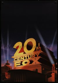 3h0193 20TH CENTURY FOX 27x40 special poster 1987 great artwork of classic logo!