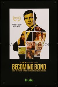 3h0009 BECOMING BOND tv poster 2017 about how George Lazenby landed the role of James Bond