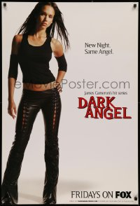3h0010 DARK ANGEL tv poster 2000 James Cameron, full-length sexy Jessica Alba!