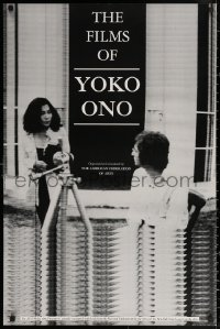 3h0033 FILMS OF YOKO ONO 24x36 film festival poster 1991 great image of her and John Lennon!