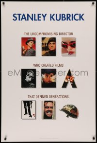3h0075 STANLEY KUBRICK COLLECTION 27x40 video poster 1999 Paths of Glory, Dr. Strangelove, 2001!