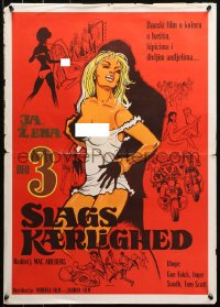 3h1040 DAUGHTER Yugoslavian 20x28 1970 I A Woman Part III, Danish beauties, revolution is complete!