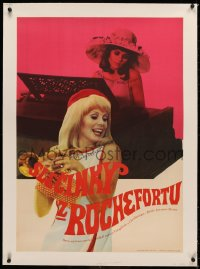 3j0006 YOUNG GIRLS OF ROCHEFORT linen Czech 23x33 1968 Jacques Demy & Agnes Varda, Catherine Deneuve