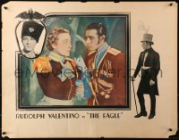 3k0019 EAGLE 1/2sh 1925 great c/u of Ruldolph Valentino & cross-dressing Louise Dresser, ultra rare!