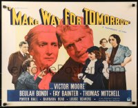 3k0026 MAKE WAY FOR TOMORROW 1/2sh 1937 Moore & Bondi's kids don't want them, Leo McCarey, rare!