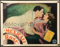 3k0027 MEXICALI ROSE 1/2sh 1929 romantic close up of Barbara Stanwyck & Sam Hardy, ultra rare!