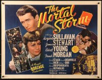 3k0028 MORTAL STORM 1/2sh 1940 Margaret Sullavan & James Stewart against unnamed Nazis, ultra rare!