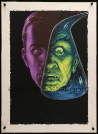 3k0001 STRANGE CASE OF THE MAN & THE BEAST 17x23 original art 1951 monster art by Anselmo Ballester!