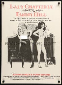 3p0007 GAMES THAT LOVERS PLAY Canadian 1981 Malcolm Leigh's Lady Chatterly vs. Fanny Hill!