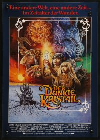 3p0020 DARK CRYSTAL German 12x19 1982 Jim Henson & Frank Oz, cool different fantasy art by Napoli!