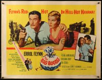 3p0792 BIG BOODLE 1/2sh 1957 Errol Flynn red-hot in Havana Cuba with sexy Rossana Rory!