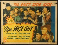 3p1005 MR WISE GUY 1/2sh 1942 great cast images of Leo Gorcey, Huntz Hall, East Side Kids!