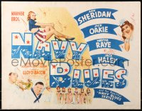 3p1013 NAVY BLUES style A 1/2sh 1941 sexy patriotic Ann Sheridan singing for sailors in Hawaii, rare!
