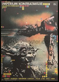3p0036 EMPIRE STRIKES BACK signed #07/50 limited edition Polish tribute 2015 by Lakomski!