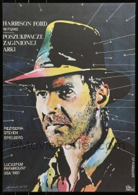 3p0037 RAIDERS OF THE LOST ARK signed #07/50 limited edition Polish tribute 2015 by Lakomski!