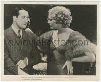 3r0638 YOU MADE ME LOVE YOU 8.25x10 still 1933 c/u of angry Thelma Todd glaring at Stanley Lupino!