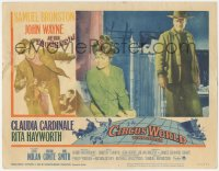 3r1062 CIRCUS WORLD LC #1 1965 great image of big John Wayne & distraught Rita Hayworth!