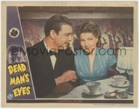 3r1088 DEAD MAN'S EYES LC 1944 c/u of Lon Chaney Jr. & pretty Jean Parker, Inner Sanctum Mystery!
