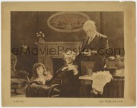 3r1132 FOR THOSE WE LOVE LC 1921 Betty Compson's brother loses money at Lon Chaney's casino, rare!