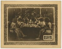 3r1210 IT'S A PIPE LC 1926 board room with one man in suit & natives with grass skirts, ultra rare!
