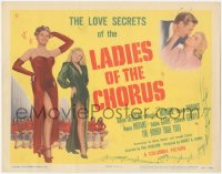 3r0010 LADIES OF THE CHORUS TC 1948 Marilyn Monroe at the start of her career, ultra rare!