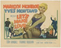 3r0011 LET'S MAKE LOVE TC 1960 four images of super sexy Marilyn Monroe & Yves Montand!