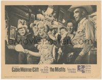 3r0030 MISFITS LC #6 1961 Gable, Montgomery Clift, Eli Wallach & ping-ponging sexy Marilyn Monroe!