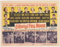 3r0014 O HENRY'S FULL HOUSE TC 1952 young Marilyn Monroe, Fred Allen, Anne Baxter, Jeanne Crain!