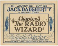 3r0880 RADIO DETECTIVE chapter 3 TC 1926 produced with the co-operation of The Boy Scouts of America!