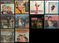 3s0019 LOT OF 10 33 1/3 RPM MOVIE SOUNDTRACK RECORDS 1950s-1970s music from a variety of movies!
