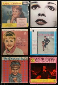 3s0017 LOT OF 10 33 1/3 RPM RECORDS 1950s-1970s Debbie Reynolds, Judy Garland, Connie Stevens!