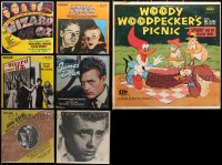 3s0023 LOT OF 7 33 1/3 RPM RADIO SHOW RECORDS 1970s-1980s Wizard of Oz, Blue Dahlia, James Dean!