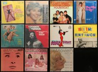 3s0015 LOT OF 11 33 1/3 RPM MOVIE SOUNDTRACK RECORDS 1950s-1960s music from a variety of movies!