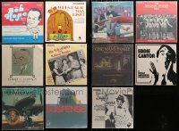 3s0014 LOT OF 11 33 1/3 RPM RADIO SHOW RECORDS 1970s-1980s Bob Hope, Edward G. Robinson & more!