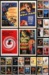 3s0001 LOT OF 45 UNIVERSAL MASTERPRINTS 2001 all the best horror movies including Dracula & Mummy!