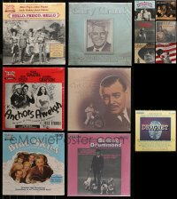 3s0012 LOT OF 13 33 1/3 RPM MOSTLY RADIO SHOW RECORDS 1970s-1980s Cary Grant, Clark Gable & more!