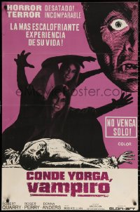 3t0003 COUNT YORGA VAMPIRE Argentinean 1970 artwork of the mistresses of the deathmaster feeding!