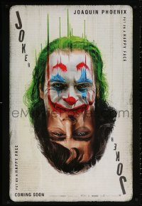 3t0014 JOKER teaser DS Thai 1sh 2019 DC Comics, completely different recalled playing card art!
